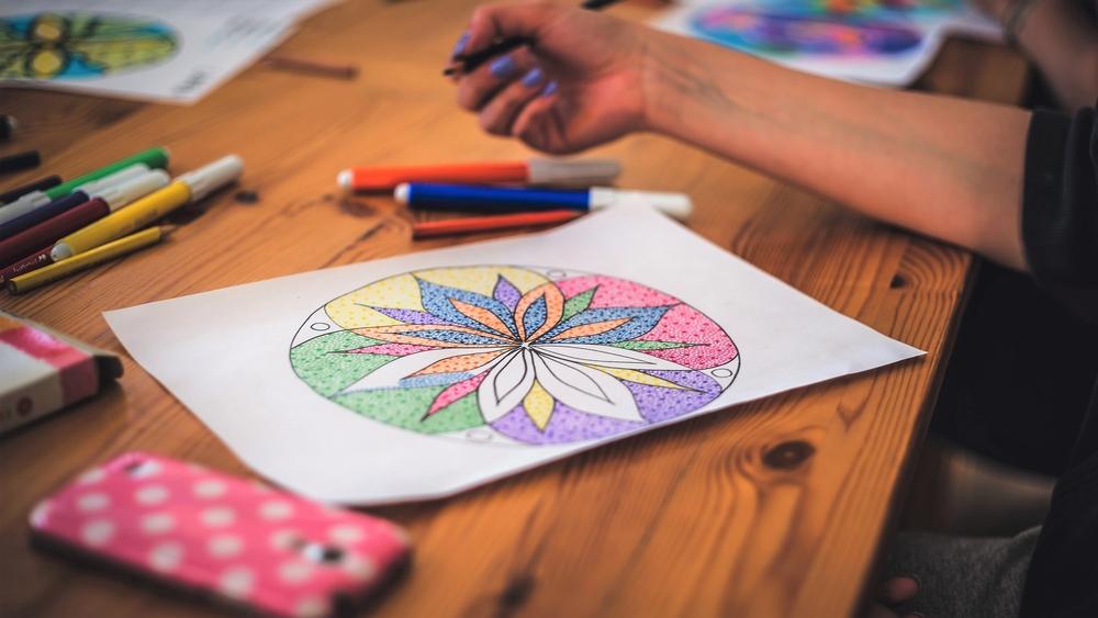 colorear como práctica mindfulness